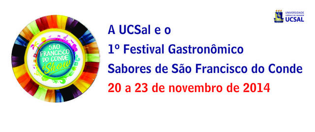 Banner festival gastronomico display