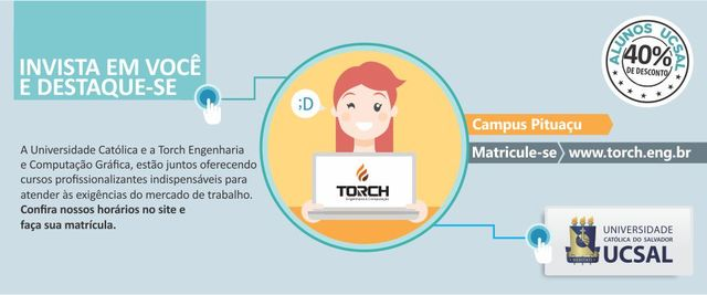 Informe torch carrossel display