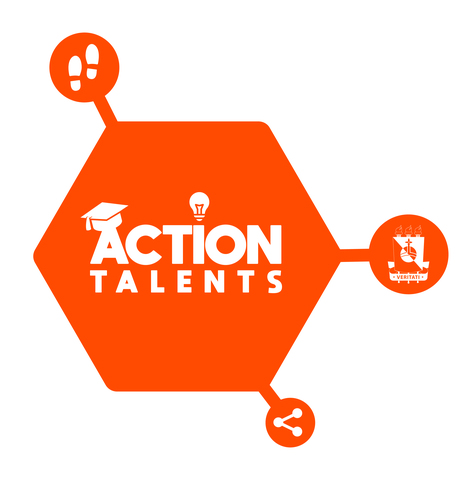 241 actiontalents logo colorido display